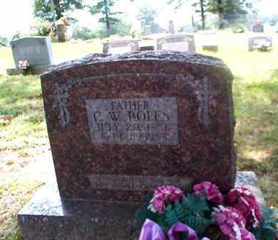 "BOLES, CYRILL WILLIAM ""C. W."" - Sharp County, Arkansas | CYRILL WILLIAM ""C. W."" BOLES - Arkansas Gravestone Photos"