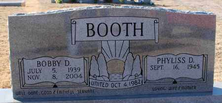 BOOTH, BOBBY D. - Sharp County, Arkansas | BOBBY D. BOOTH - Arkansas Gravestone Photos