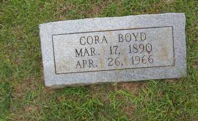 BOYD, CORA - Sharp County, Arkansas | CORA BOYD - Arkansas Gravestone Photos