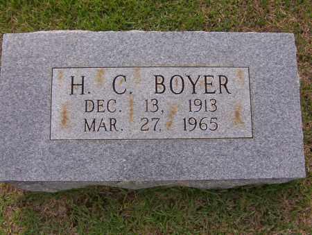 BOYER, H. CURTIS - Sharp County, Arkansas | H. CURTIS BOYER - Arkansas Gravestone Photos