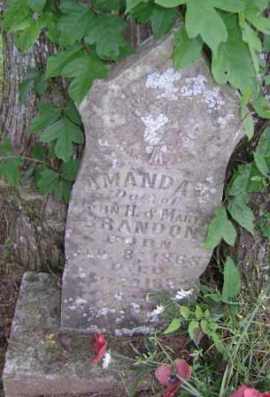 BRANDON, AMANDA L - Sharp County, Arkansas   AMANDA L BRANDON - Arkansas Gravestone Photos