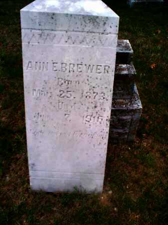 BREWER, ANN E. - Sharp County, Arkansas | ANN E. BREWER - Arkansas Gravestone Photos