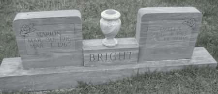 BRIGHT, OZELLA - Sharp County, Arkansas | OZELLA BRIGHT - Arkansas Gravestone Photos