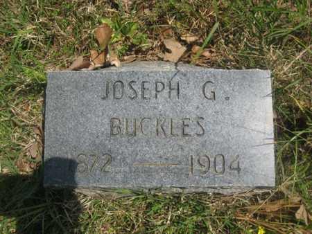 BUCKLES, JOSEPH G - Sharp County, Arkansas   JOSEPH G BUCKLES - Arkansas Gravestone Photos