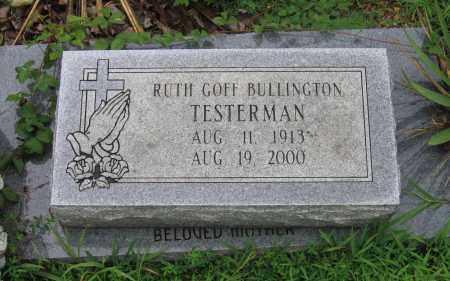 GOFF BULLINGTON, RUTH - Sharp County, Arkansas | RUTH GOFF BULLINGTON - Arkansas Gravestone Photos