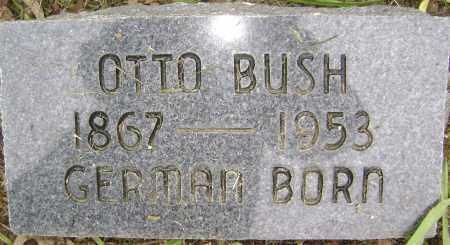 BUSH, OTTO - Sharp County, Arkansas   OTTO BUSH - Arkansas Gravestone Photos