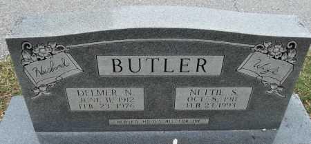 BUTLER, DELMER N - Sharp County, Arkansas | DELMER N BUTLER - Arkansas Gravestone Photos