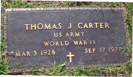 CARTER, JR (VETERAN WWII), THOMAS - Sharp County, Arkansas | THOMAS CARTER, JR (VETERAN WWII) - Arkansas Gravestone Photos