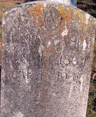 CASEY, WILLIAM HENRY - Sharp County, Arkansas | WILLIAM HENRY CASEY - Arkansas Gravestone Photos