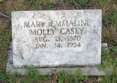 CASEY, MARY EMMALINE MOLLY - Sharp County, Arkansas   MARY EMMALINE MOLLY CASEY - Arkansas Gravestone Photos