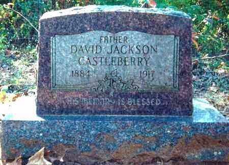 CASTLEBERRY, DAVID JACKSON - Sharp County, Arkansas | DAVID JACKSON CASTLEBERRY - Arkansas Gravestone Photos