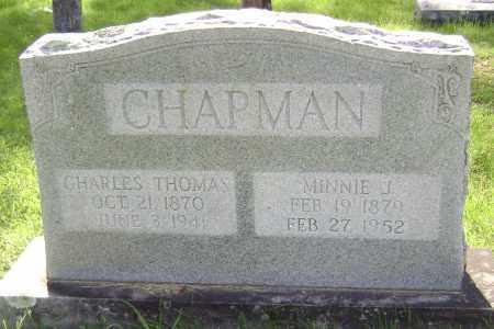CHAPMAN, MINNIE J. - Sharp County, Arkansas | MINNIE J. CHAPMAN - Arkansas Gravestone Photos