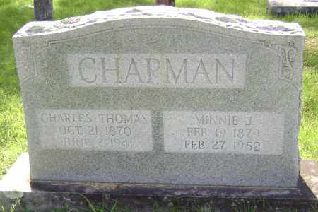 CHAPMAN, CHARLES THOMAS - Sharp County, Arkansas | CHARLES THOMAS CHAPMAN - Arkansas Gravestone Photos