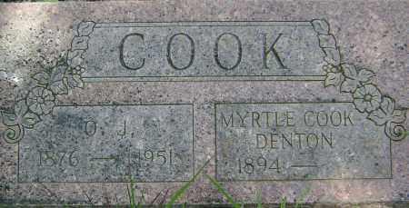 COOK, MYRTLE M. - Sharp County, Arkansas   MYRTLE M. COOK - Arkansas Gravestone Photos