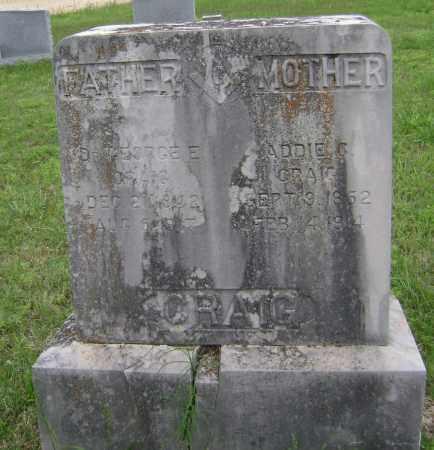 CRAIG, ADDIE C - Sharp County, Arkansas | ADDIE C CRAIG - Arkansas Gravestone Photos