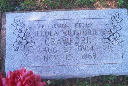 CRAWFORD, LEOLA - Sharp County, Arkansas | LEOLA CRAWFORD - Arkansas Gravestone Photos
