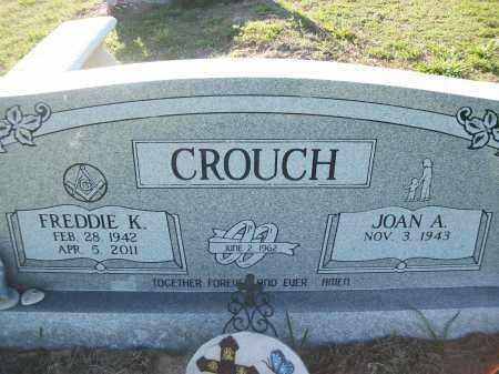 CROUCH, FREDDIE K. - Sharp County, Arkansas | FREDDIE K. CROUCH - Arkansas Gravestone Photos