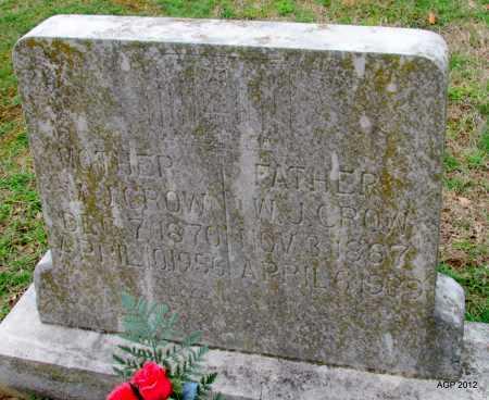 """CROW, MARY JANE """"M J"""" - Sharp County, Arkansas   MARY JANE """"M J"""" CROW - Arkansas Gravestone Photos"""