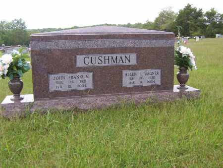 WAGNER CUSHMAN, HELEN - Sharp County, Arkansas | HELEN WAGNER CUSHMAN - Arkansas Gravestone Photos