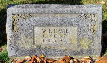 DAVIE, WILLIAM P. - Sharp County, Arkansas | WILLIAM P. DAVIE - Arkansas Gravestone Photos