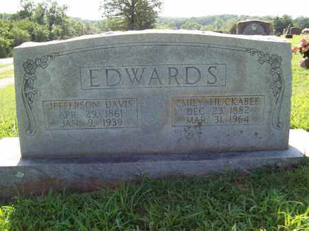 HUCKABEE EDWARDS, RACHEL EMILY - Sharp County, Arkansas | RACHEL EMILY HUCKABEE EDWARDS - Arkansas Gravestone Photos