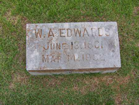 "EDWARDS, WILLIAM A. ""W. A."" - Sharp County, Arkansas 