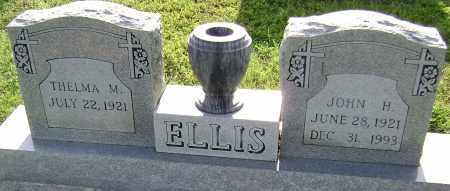ELLIS, JOHN H. - Sharp County, Arkansas | JOHN H. ELLIS - Arkansas Gravestone Photos