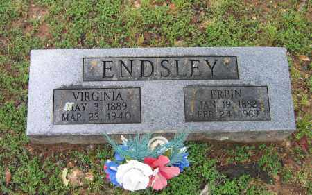 ENDSLEY, ERBIN - Sharp County, Arkansas | ERBIN ENDSLEY - Arkansas Gravestone Photos