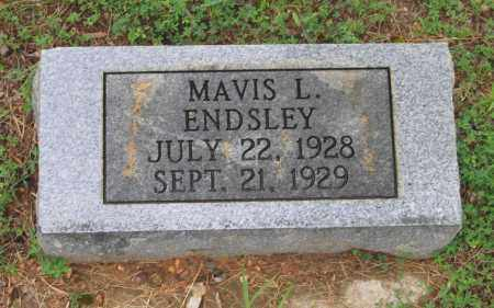 ENDSLEY, MAVIS L. - Sharp County, Arkansas | MAVIS L. ENDSLEY - Arkansas Gravestone Photos