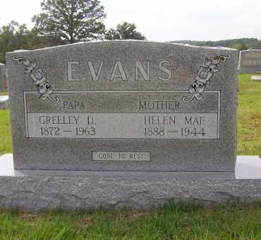 EVANS, HELEN MAE - Sharp County, Arkansas | HELEN MAE EVANS - Arkansas Gravestone Photos