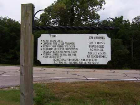 *EVENING SHADE-SHARP CEMETERY,  - Sharp County, Arkansas    *EVENING SHADE-SHARP CEMETERY - Arkansas Gravestone Photos