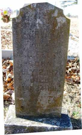 FELTS, MINIRVA A. - Sharp County, Arkansas | MINIRVA A. FELTS - Arkansas Gravestone Photos