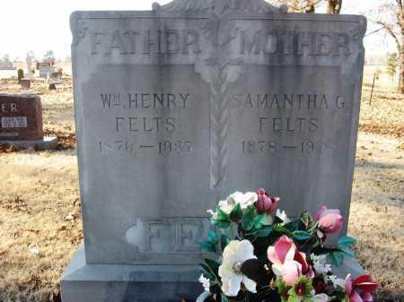 FELTS, WILLIAM HENRY - Sharp County, Arkansas | WILLIAM HENRY FELTS - Arkansas Gravestone Photos