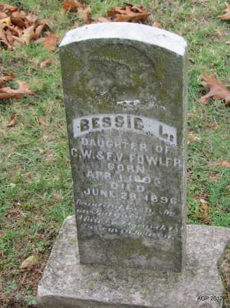 FOWLER, BESIE L - Sharp County, Arkansas | BESIE L FOWLER - Arkansas Gravestone Photos