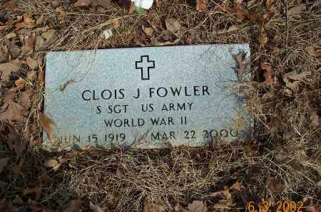 FOWLER  (VETERAN WWII), CLOIS J - Sharp County, Arkansas | CLOIS J FOWLER  (VETERAN WWII) - Arkansas Gravestone Photos