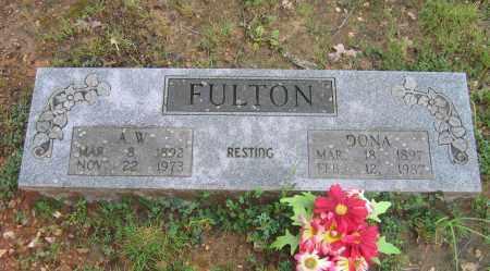 FULTON, DONA - Sharp County, Arkansas | DONA FULTON - Arkansas Gravestone Photos