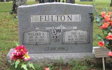 FULTON, WILLARD A. - Sharp County, Arkansas   WILLARD A. FULTON - Arkansas Gravestone Photos