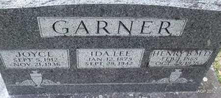 GARNER, JOYCE - Sharp County, Arkansas | JOYCE GARNER - Arkansas Gravestone Photos