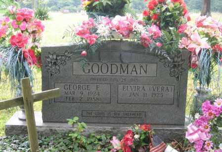GOODMAN, GEORGE F. - Sharp County, Arkansas | GEORGE F. GOODMAN - Arkansas Gravestone Photos