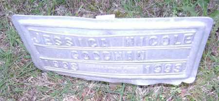 GOODMAN, JESSICA NICOLE - Sharp County, Arkansas   JESSICA NICOLE GOODMAN - Arkansas Gravestone Photos