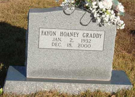 GRADDY, FAYON - Sharp County, Arkansas | FAYON GRADDY - Arkansas Gravestone Photos