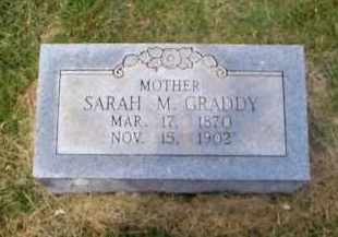 GRADDY, SARAH M. - Sharp County, Arkansas | SARAH M. GRADDY - Arkansas Gravestone Photos