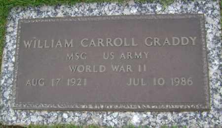 GRADDY (VETERAN WWII), WILLIAM CARROLL - Sharp County, Arkansas   WILLIAM CARROLL GRADDY (VETERAN WWII) - Arkansas Gravestone Photos