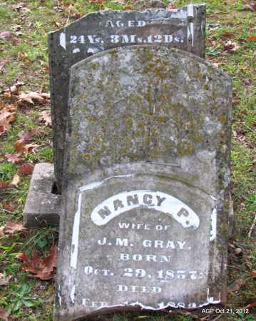 GRAY, NANCY P - Sharp County, Arkansas   NANCY P GRAY - Arkansas Gravestone Photos