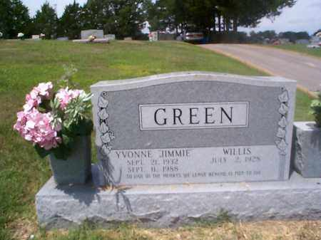 "LANDERS GREEN, YVONNE ""JIMMIE"" - Sharp County, Arkansas 