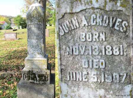 GROVES, JOHN A. - Sharp County, Arkansas | JOHN A. GROVES - Arkansas Gravestone Photos