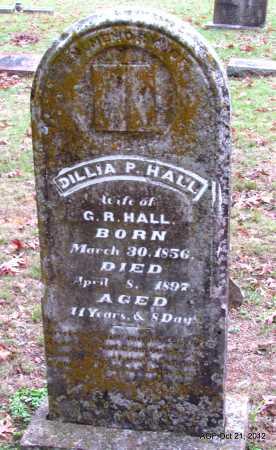 HALL, DILLIA P. - Sharp County, Arkansas | DILLIA P. HALL - Arkansas Gravestone Photos