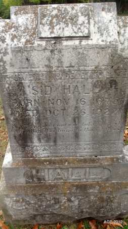 "HALL, ROBERT SIDNEY ""SID"" - Sharp County, Arkansas | ROBERT SIDNEY ""SID"" HALL - Arkansas Gravestone Photos"