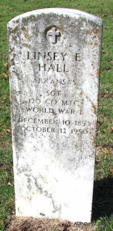 HALL (VETERAN WWI), LINSEY E - Sharp County, Arkansas | LINSEY E HALL (VETERAN WWI) - Arkansas Gravestone Photos