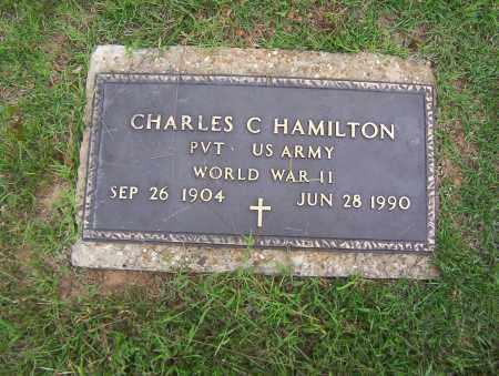 HAMILTON (VETERAN WWII), CHARLES C - Sharp County, Arkansas | CHARLES C HAMILTON (VETERAN WWII) - Arkansas Gravestone Photos